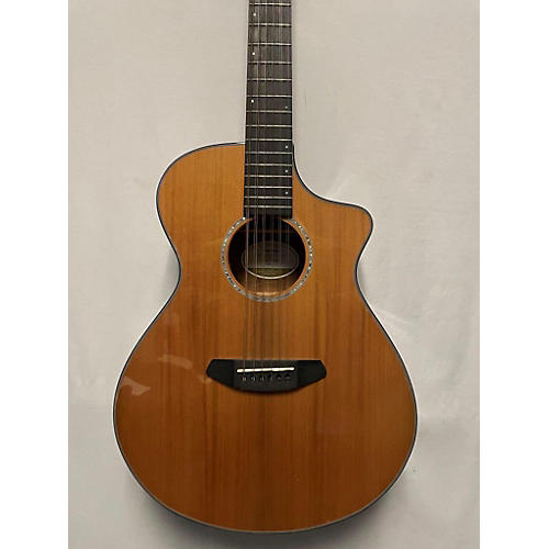 Breedlove Solo-12 12 String Acoustic Guitar Natural