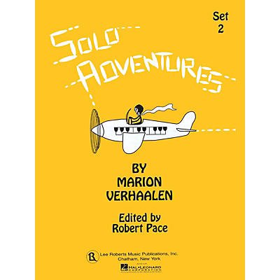 Lee Roberts Solo Adventures - Set 2 (Set 2) Pace Piano Education Series Softcover Composed by Marion Verhaalen