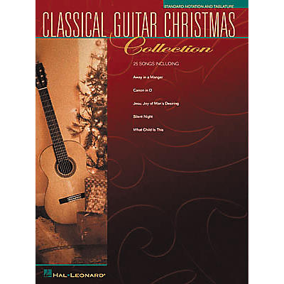 Hal Leonard Solo Classical Guitar Christmas Collection Book