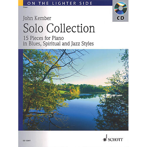 Schott Solo Collection (15 Pieces for Piano in Blues, Spiritual and Jazz Styles) Schott Series Softcover with CD