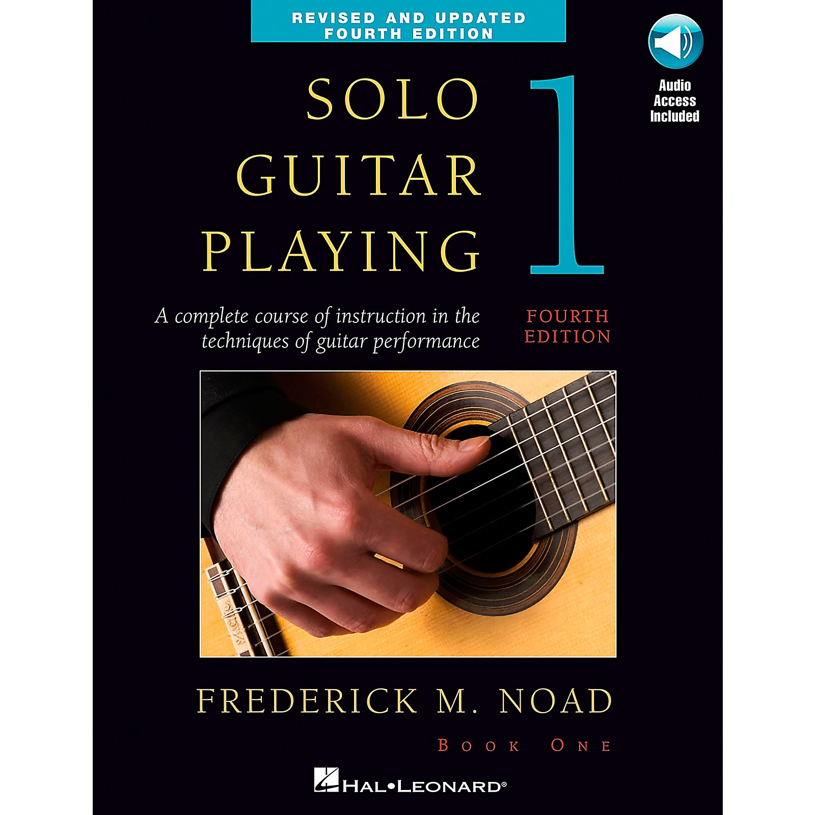 Music Sales Solo Guitar Playing Book 1 - 4th Edition Book/CD By Noad