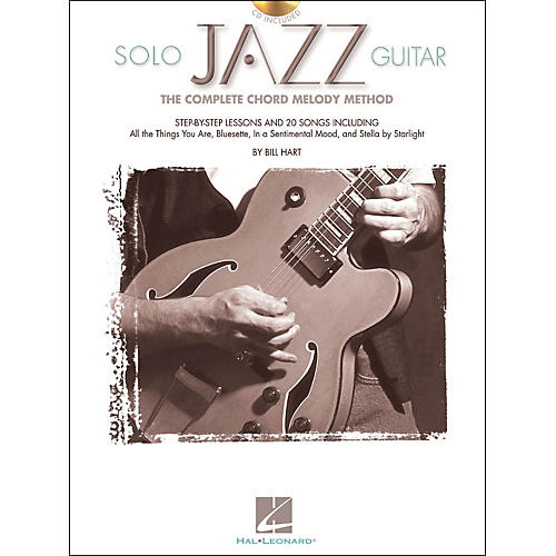 Hal Leonard Solo Jazz Guitar Book/CD