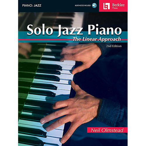 Berklee Press Solo Jazz Piano - 2nd Edition Berklee Guide Series Softcover with CD Written by Neil Olmstead