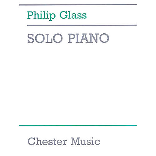 Chester Music Solo Piano Music Sales America Series Softcover