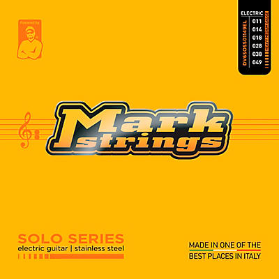Markbass Solo Series Stainless Steel Electric Guitar Strings (11-49)