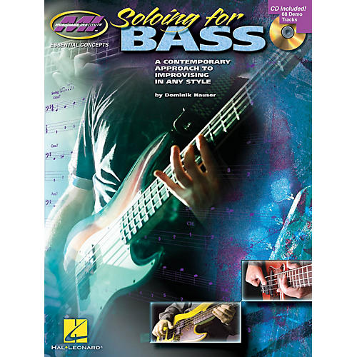Musicians Institute Soloing for Bass Musicians Institute Press Series Softcover with CD Written by Dominik Hauser