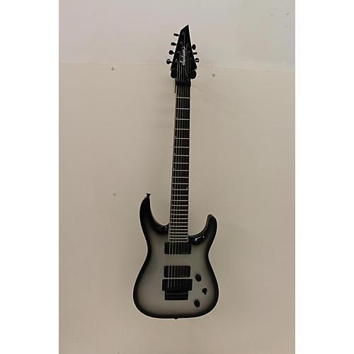 Jackson Soloist 7 String Solid Body Electric Guitar Silverburst