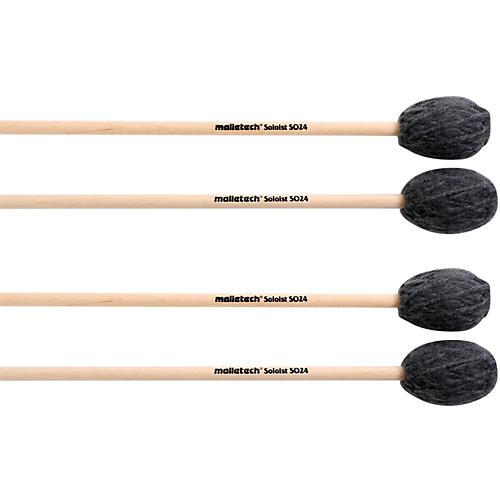 Malletech Soloist Marimba Mallets Set of 4 (2 Matched Pairs)