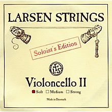 Soloist Series Cello Strings D, Soloist, Strong