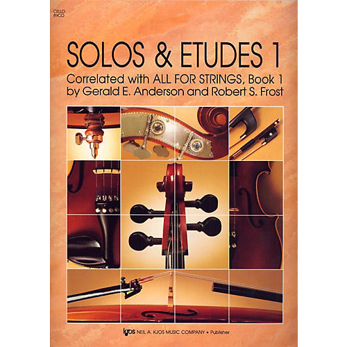 KJOS Solos And Etudes, BK1/CELLO