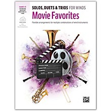 Alfred Solos, Duets & Trios for Winds: Movie Favorites Trombone, Baritone B.C., Bassoon, Tuba 2-3