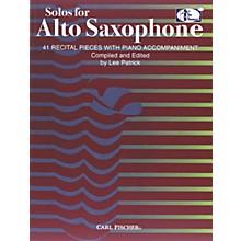 Carl Fischer Solos For Alto Saxophone Book