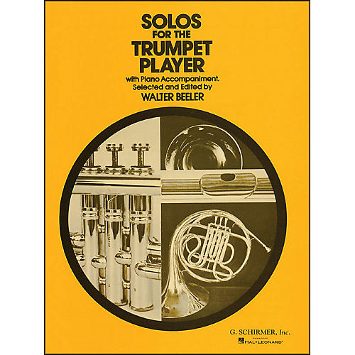 G. Schirmer Solos for Trumpet Player with Piano