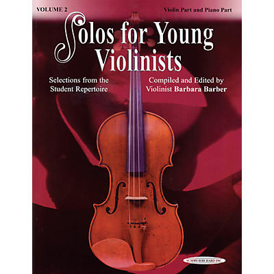 Alfred Solos for Young Violinists Violin Part and Accompaniment Vol. 2 (Book)