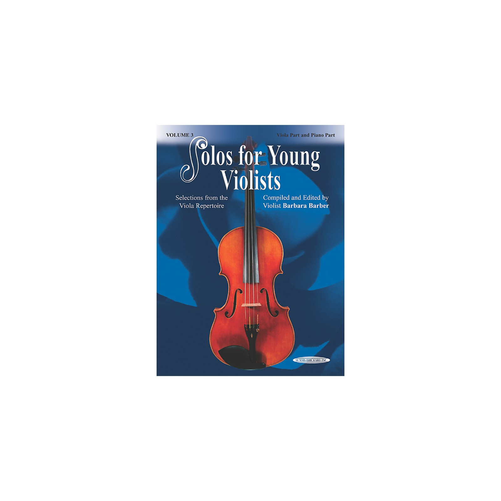 Alfred Solos for Young Violists Vol. 3 (Book)