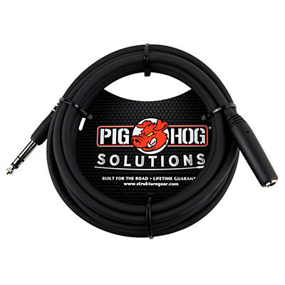 "Pig Hog Solutions Headphone Extension Cable 1/4"" (10 ft.)"