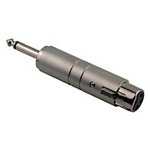 "Pig Hog Solutions Line Transformer XLR(F) to 1/4"" Adapter"