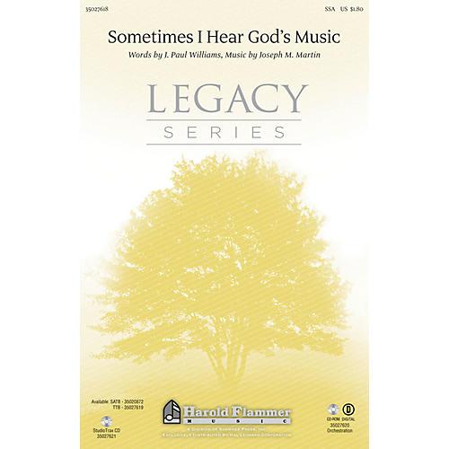 Shawnee Press Sometimes I Hear God's Music SSA composed by Joseph M. Martin