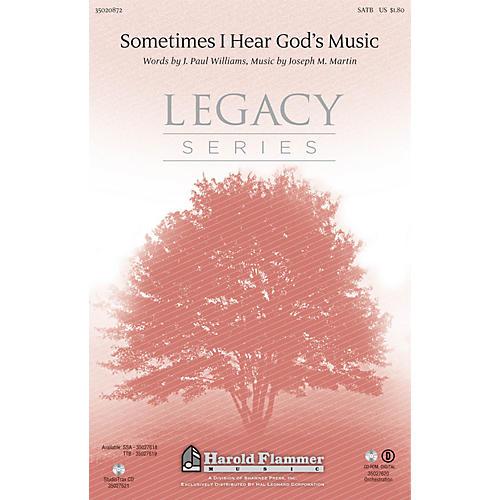 Shawnee Press Sometimes I Hear God's Music Studiotrax CD Composed by Joseph M. Martin