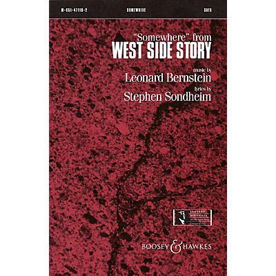 Leonard Bernstein Music Somewhere (from West Side Story) SSA Arranged by William Jonson