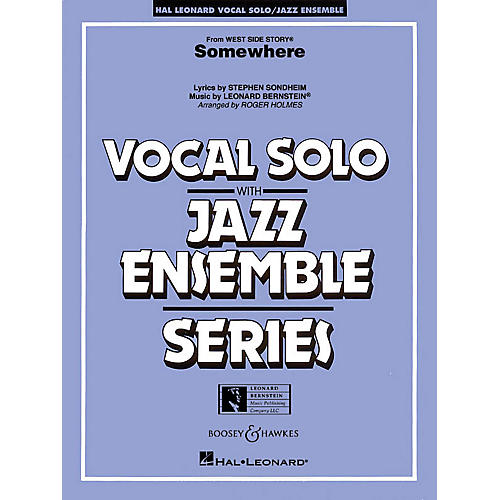 Hal Leonard Somewhere (from west Side Story) Full Score Jazz Band