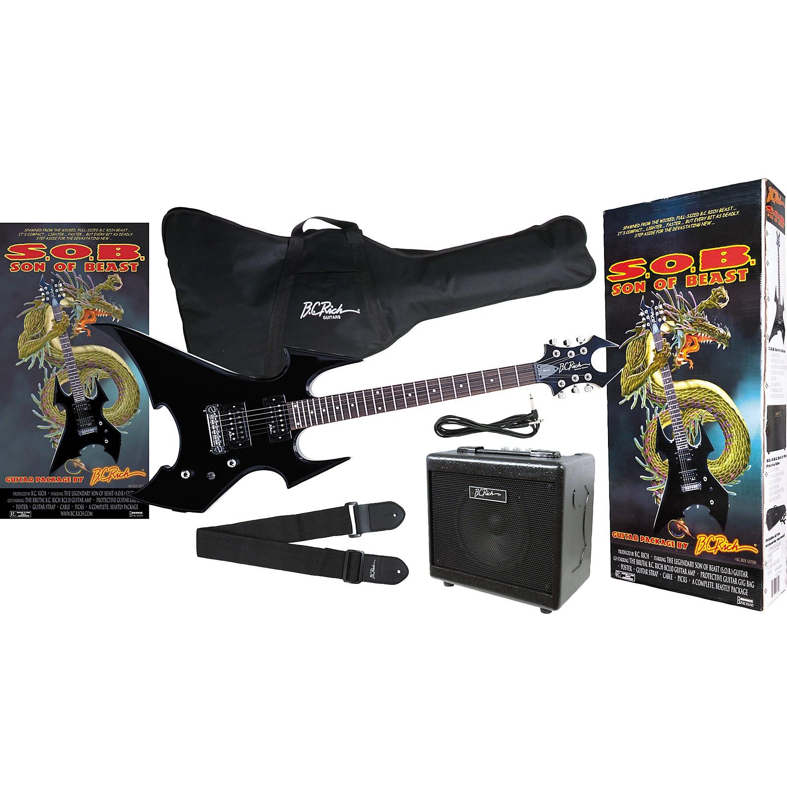 B.C. Rich Son Of Beast Guitar Pack