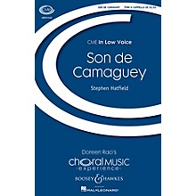 Boosey and Hawkes Son de Camaguey (CME In Low Voice) TTBB A Cappella composed by Stephen Hatfield