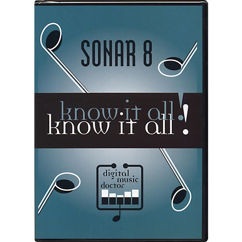 Digital Music Doctor Sonar 8 - Know It All! (Data DVD)
