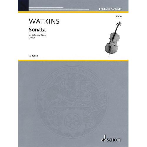 Schott Sonata (2000) (Violoncello and Piano) Schott Series