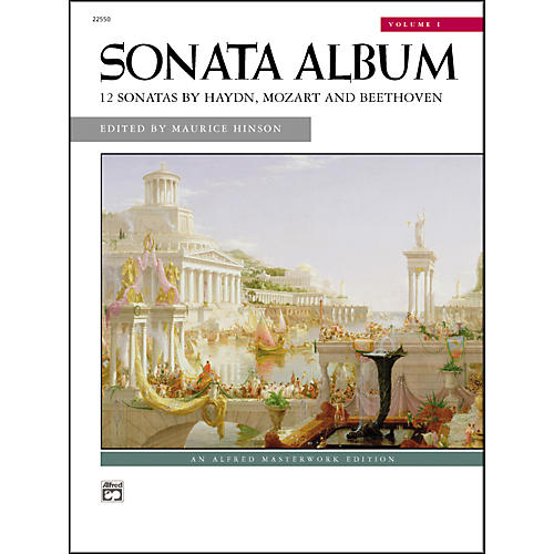 Alfred Sonata Album Volume 1 Intermediate/Early Advanced Piano