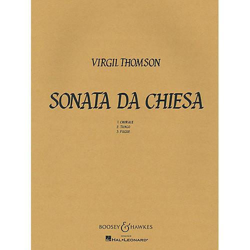 Boosey and Hawkes Sonata Da Chiesa Boosey & Hawkes Chamber Music Series by Virgil Thomson