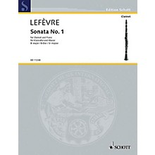 Schott Sonata No. 1 (1802) from Methode de Clarinette Schott Series