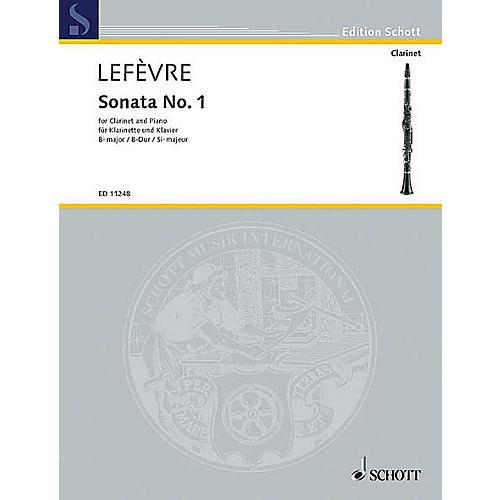 Schott Sonata No. 1 (1802) from Methode de Clarinette Schott Series