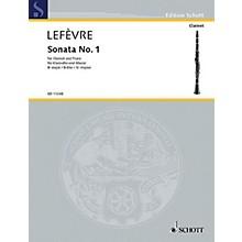 Schott Sonata No. 1 (1802) from Méthode de Clarinette Schott Series