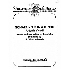 Shawnee Press Sonata No. 3 in A Minor (Tuba in C (B.C.) and Piano) Tuba Arranged by R. Winston Morris