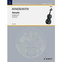 Schott Sonata, Op. 25, No. 1 (1922) (for Solo Viola) Schott Series