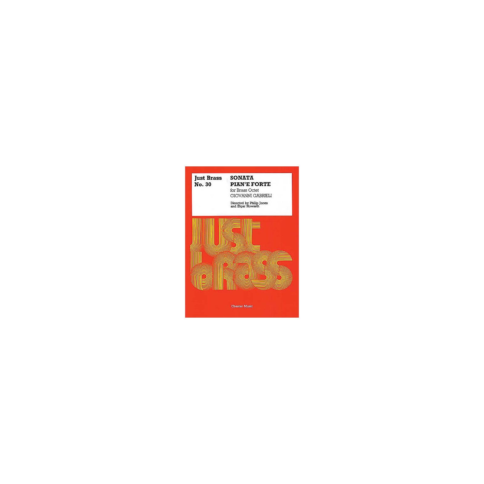 Chester Music Sonata Pian'e Forte (Just Brass No. 30) Music Sales America Series by Giovanni Gabrieli