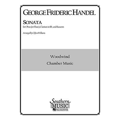 Southern Sonata (Woodwind Trio) Southern Music Series Arranged by Clifton Williams
