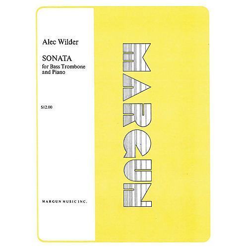 Margun Music Sonata for Bass Trombone and Piano Shawnee Press Series