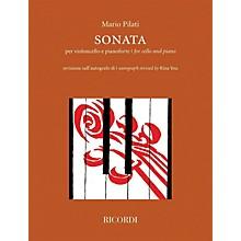 Ricordi Sonata for Cello and Piano by Mario Pilati