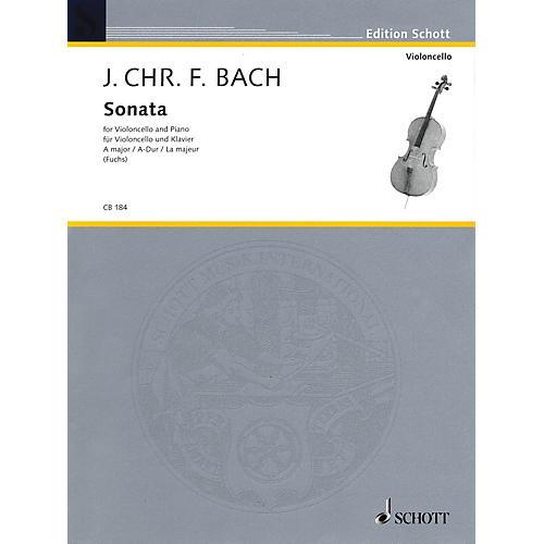 Schott Sonata for Cello and Piano in A Major String Series