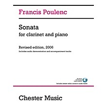 Chester Music Sonata for Clarinet and Piano Music Sales America Series Softcover Audio Online
