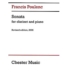 Chester Music Sonata for Clarinet and Piano (Revised Edition, 2006) Music Sales America Series