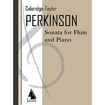 Lauren Keiser Music Publishing Sonata for Flute & Piano LKM Music Series Composed by Coleridge-Taylor Perkinson