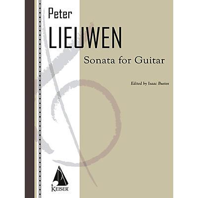 Lauren Keiser Music Publishing Sonata for Guitar LKM Music Series Composed by Peter Lieuwen