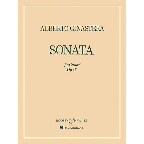 Boosey and Hawkes Sonata for Guitar, Op. 47 (Guitar Solo) Boosey & Hawkes Chamber Music Series