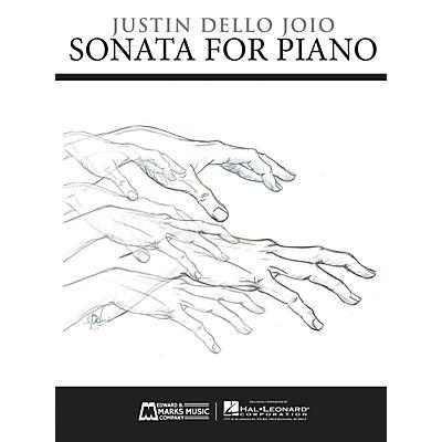 Edward B. Marks Music Company Sonata for Piano E.B. Marks Series Softcover Composed by Justin Dello Joio