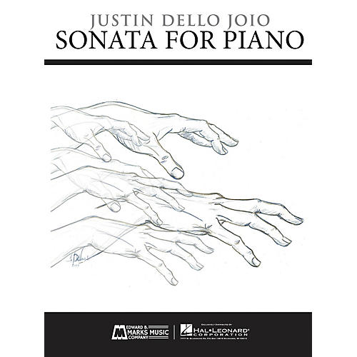 Edward B. Marks Music Company Sonata for Piano E.B. Marks Series Softcover Composed by Justin Dello Joio