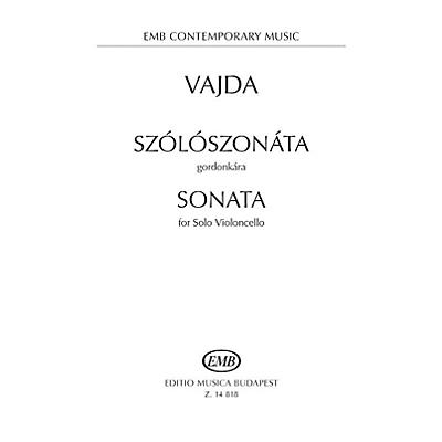 Editio Musica Budapest Sonata for Solo Violoncello EMB Series Softcover