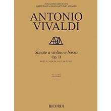 Ricordi Sonata for Violin and Basso Continuo, Op. 2 String Series Softcover Composed by Antonio Vivaldi